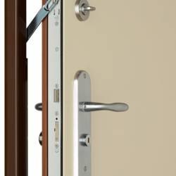 Porte anti-effraction pour appartement foxeo